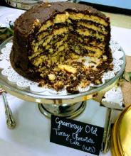 Grammy\'s old timey chocolate cake